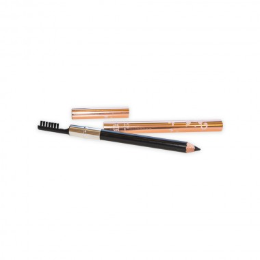 Eyebrow Pencil With Brush (black)