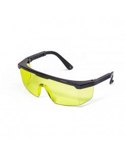 Classic safety glasses transparent-yellow 1pcs.