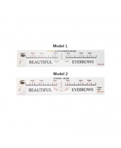 Golden eyebrows ruler