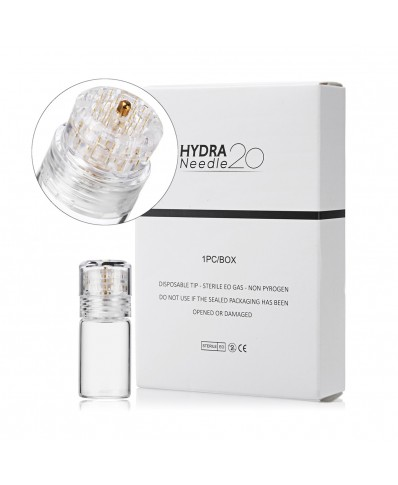 Gold Titanium Stamp Hydra 20 Micro Needle (0,25 - 0,5 mm)