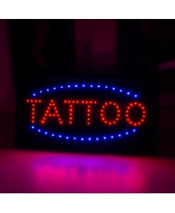 Light tattoo advertising