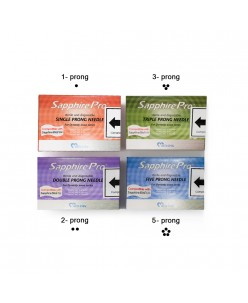 Mei-Cha STERLING COMBO NEEDLE 1pcs.