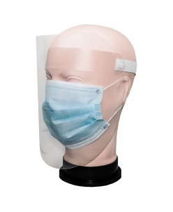 Anti-Droplet and anti-fog protective face shield 1pcs.