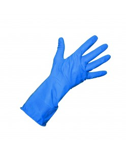 ALLSAFE Industrial Latex Gloves (M-L) (BLUE) (1 pair)