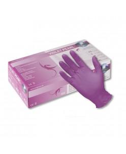 PEARL Nitrile Gloves (S - M) (VIOLET PEARL)