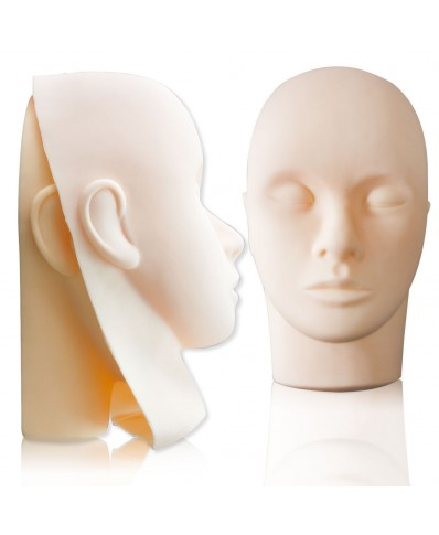 Mannequin Head + 3 Rubber Masks