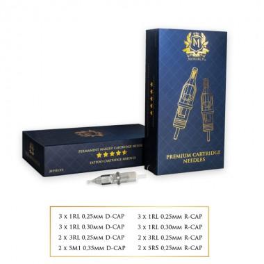 Skin Monarch Baron 360 Cartridge test set (20 pcs.)