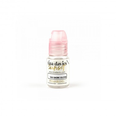 Tina Davies Sunset Thick Solution 15ml.