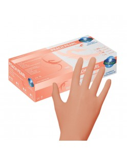 PEACH PEARL Nitrile Gloves (XS - S - M)
