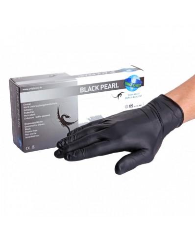 Black Pearl Nitrile Gloves (XS - S - M- L)