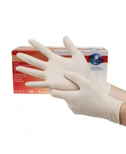 COMFORT Latex Gloves (S - M - L)