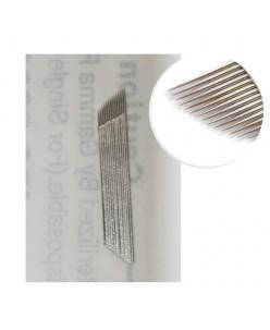 Microblading B&G 15 prong needle (platinum)