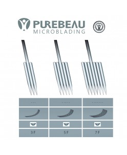 Purebeau FlaT pigmentation needle (3F, 5F, 7F) 1 pcs.