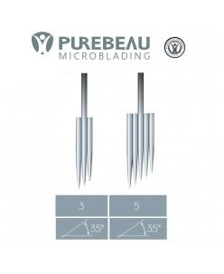 Purebeau 3-5 er Microblade FRS needles (for machine) 1 pcs.