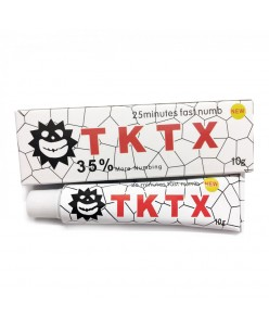 TKTX WHITE Tattoo Anesthetic Cream (10 g.)