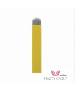 Microblading U blade 18-prong needle 0.20mm (Sharp-Yellow)