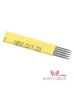 Biomaser 7-galė shadow needle (Yellow)