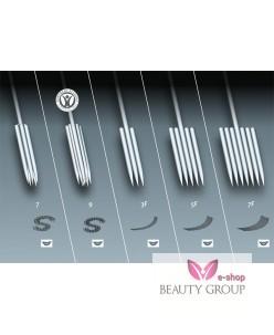 Purebeau 5 er FlaT pigmentation needle