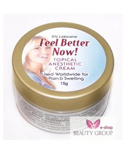 "Anesthetic cream ""Feel Better now"" (15g.)"