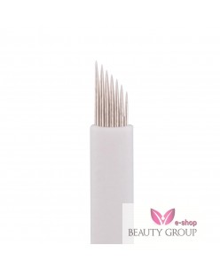 Microblading 7-prong needle (White)