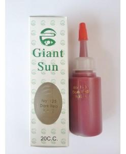 Dark red (No 125) pigment (20 ml.)