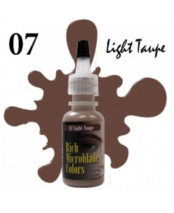 Rich Microblade Colors Pigment Light Taupe (15ml.)