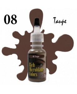 Rich Microblade Colors Pigment Taupe (15ml.)
