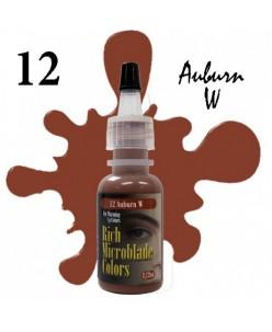 Rich Microblade Colors Pigment Auburn W (15ml.)