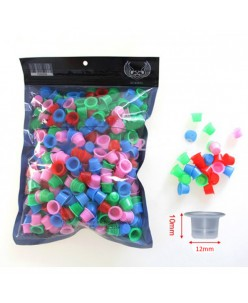 Colorful cups for pigment (100 pc.)