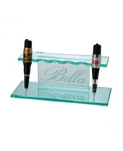 Bella acrylic holder apparatus