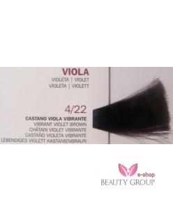 Roverhair Pure color 4/22 Vibrant Violet Brown 100 ml.