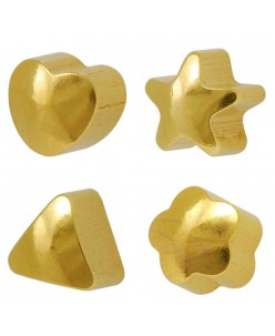 Caflon® Gold Plated Shaped Earrings