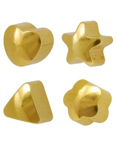 Caflon® Gold Plated Shaped Earrings