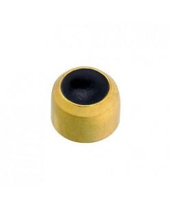 """Caflon® sterile gold plated earrings """"Black Onyx"""""""