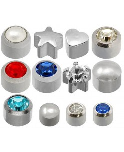 Caflon® sterile silver earrings kit (12 pairs)
