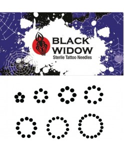 Black Widow RS Round Shader needle (5 pcs.)