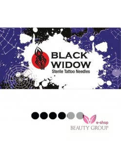 Black Widow F Flat needle (5 pcs.)