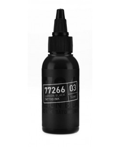 Carbon black tattoo ink (03 Sumi) 50 ml.