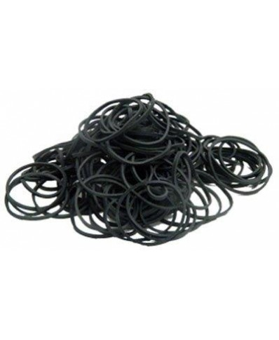 Rubber bands (black) 100 ps.